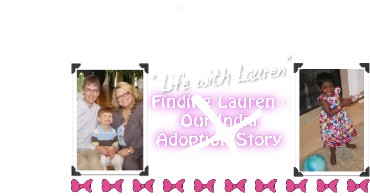 Finding Lauren - Our India Adoption Story