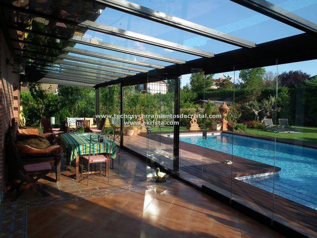 Fotos de techos techos de vidrio - Fotos terrazas aticos ...
