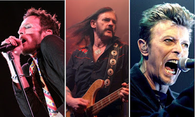 Scott Weiland Lemmy David Bowie