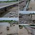 En Agua Linda temen por la posible caída de un puente