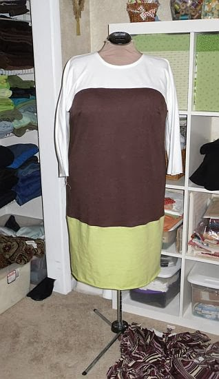 Another Butterick 5429/Simplicity 2185 combo . This gets worn a lot