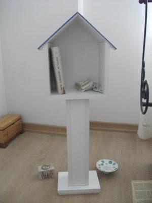 kuş yuvası kitaplık