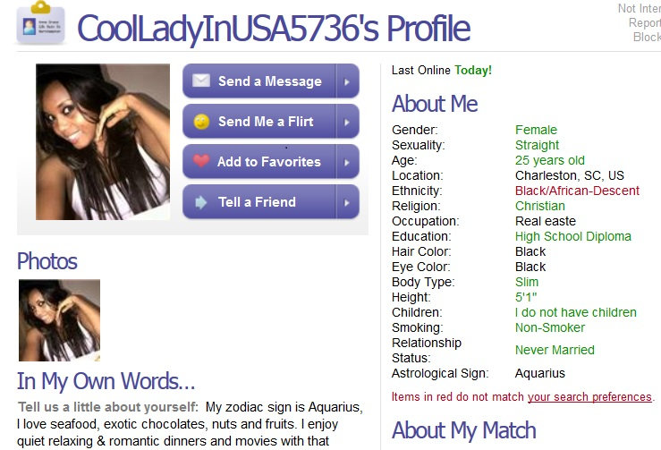 how to report a dating scammer