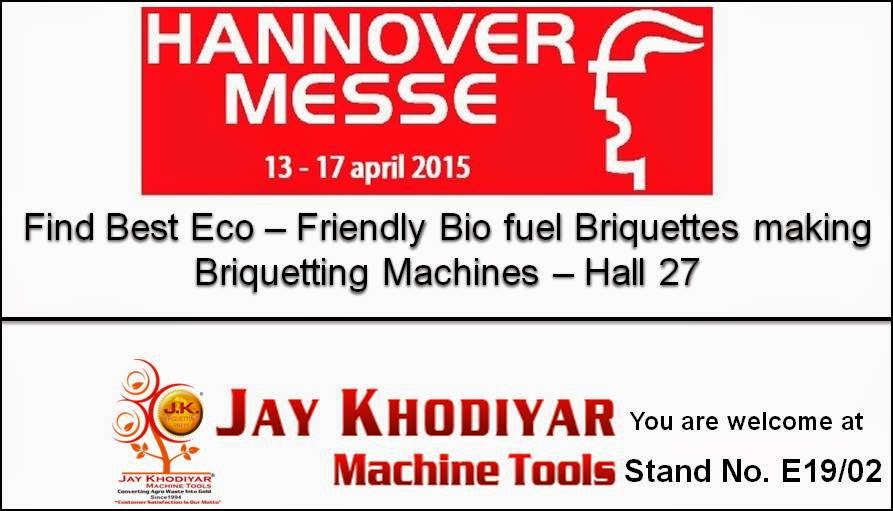 Briquetting Machine Manufacturer at Hannover Messe 2015