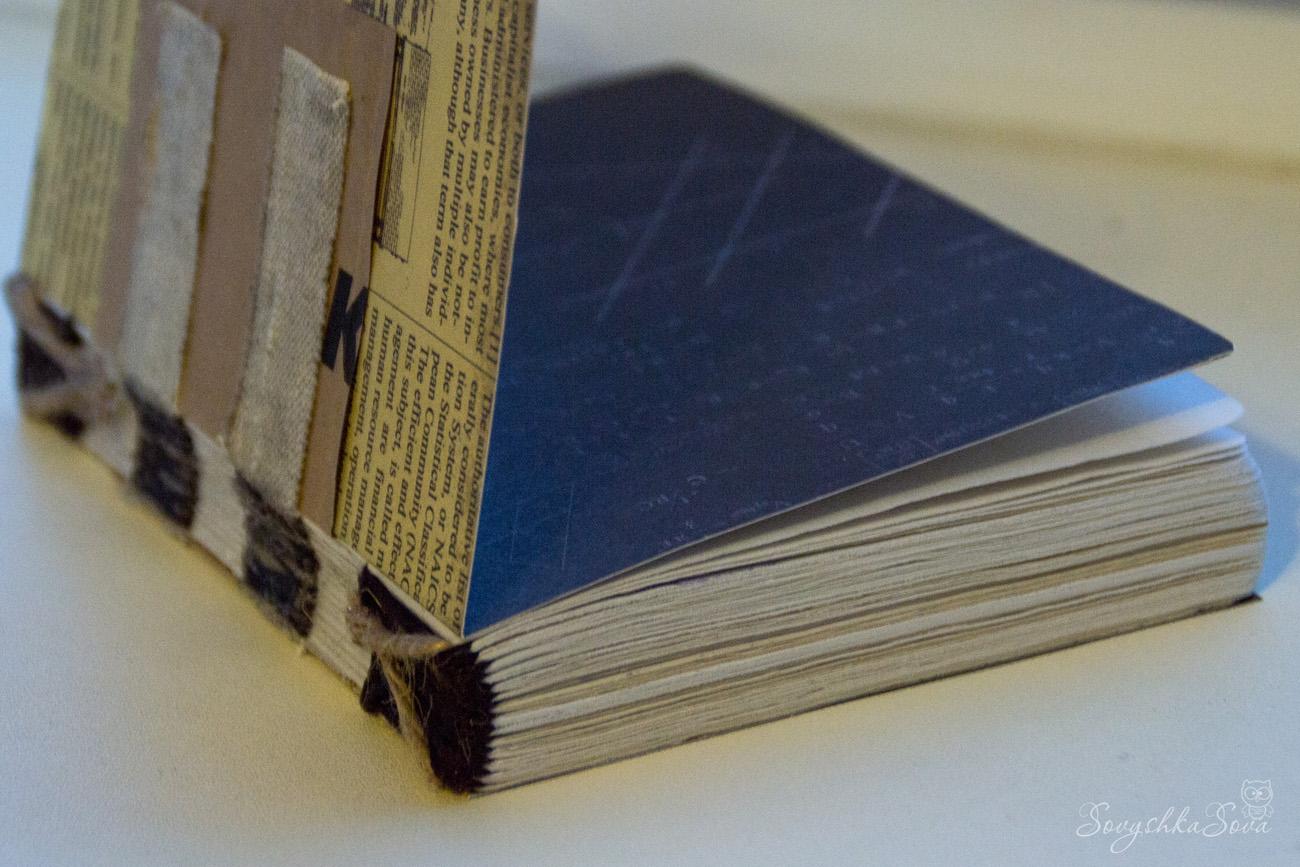 Как сделать переплет для блокнот своими руками 582