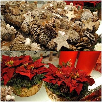 Decoraci n sp cio centros de mesa navide os for Centros navidenos
