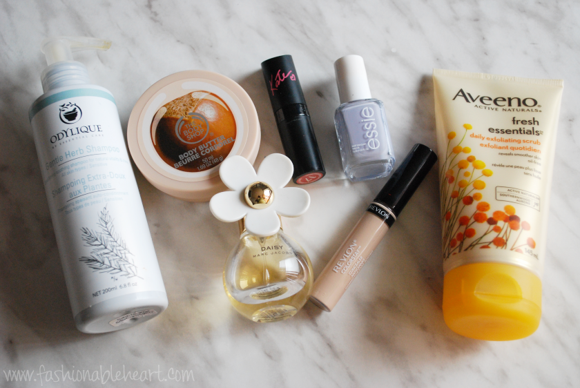 odylique shampoo body shop rimmel london 17 essie aveeno fresh essentials marc jacobs daisy revlon concealer