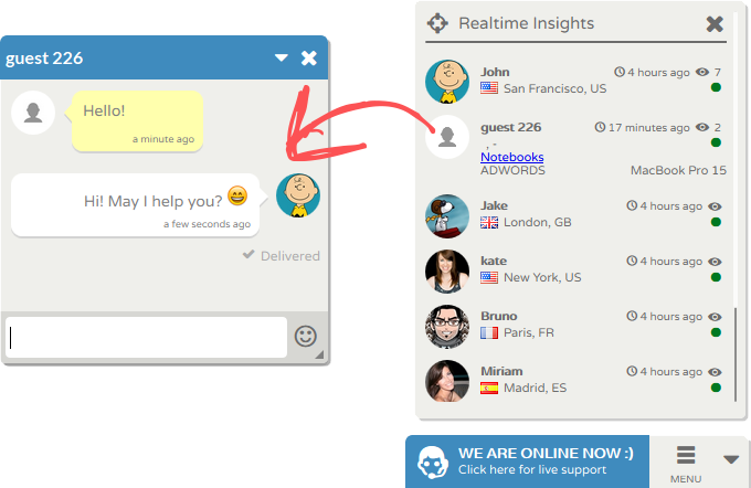 Flyzzo Live Chat Free Chat Plugin for Wordpress
