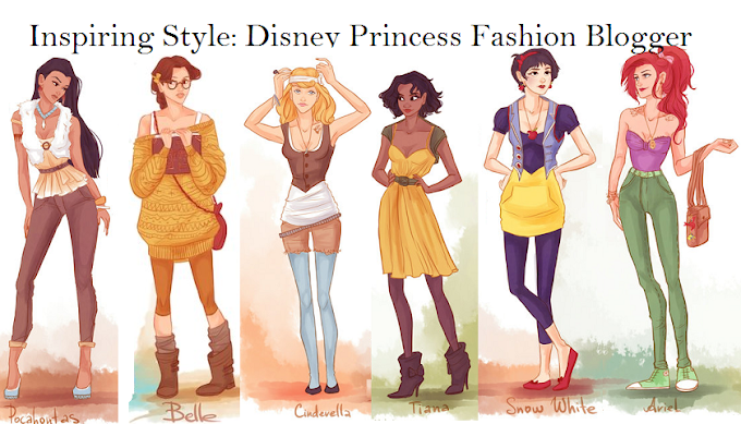 Disney princess fashion bloggers
