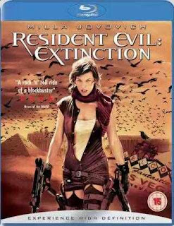 Resident Evil Extinction (2007) Hindi Dual Audio Movie 200Mb hevc BRRip
