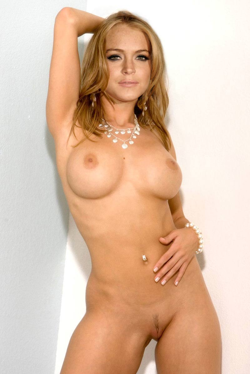 beautiful girl naked lindsay lohan