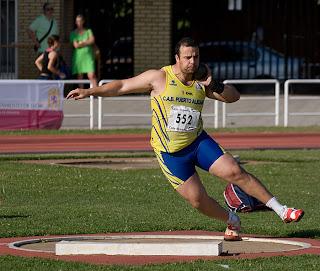 El atleta bejrano jose maria peña