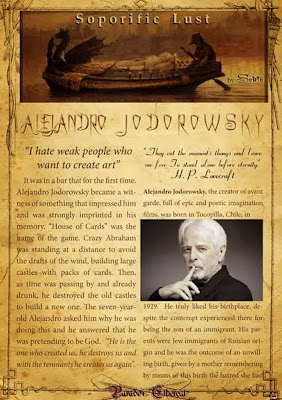 Alejandro Jodorowsky article by Sekte