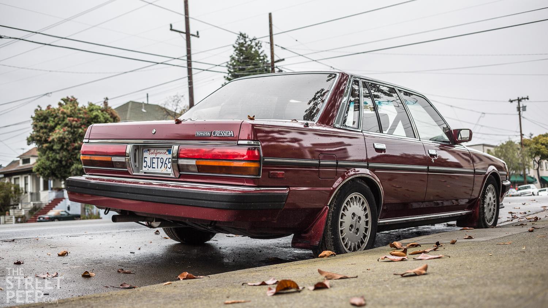 Toyota cressida stance