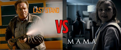 mama review, the last stand review, new arnold movie, schwarzenneger movie, guillermo del toro