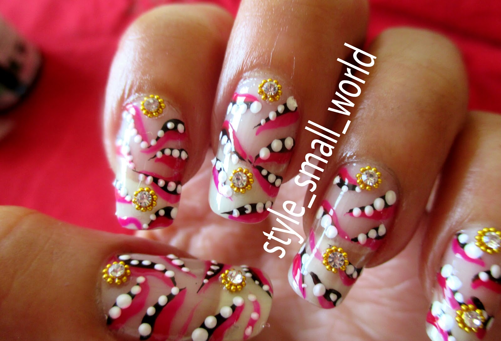 Superbe Here Iu0027m Showing You A Very Simple And Cute Nail Art Design. It Can Be  Painted In Quick Time. Beginners Can Easily Paint It On Their Nails.
