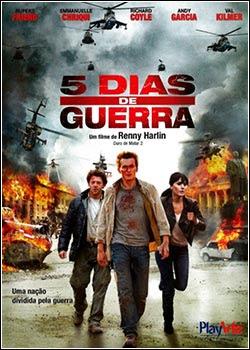 Download - 5 Dias de Guerra DVDRip - AVI - Dual Áudio