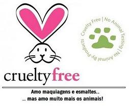 Não use esmaltes que fazem testes em animais!
