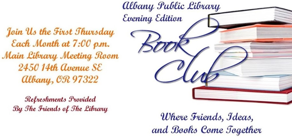 Albany Public Library Evening Edition Book Club