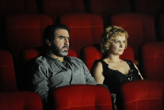 Éric Cantona in action in his latest movie called 'Les Rencontres d'après minuit'