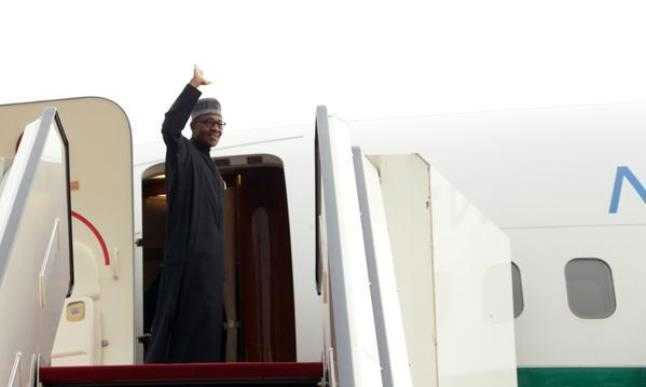 President Buhari Jets Out Of Nigeria Today