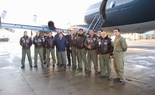 La Escuadrilla Aeronaval de Exploración en Río Grande
