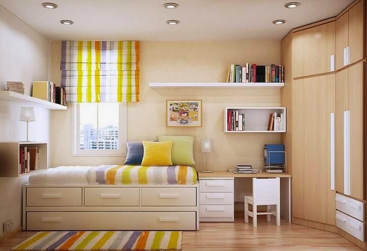 Gambar kamar tidur sempit
