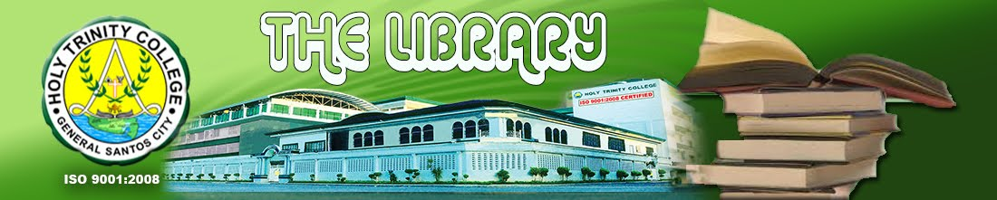 Holy Trinity College Library of General Santos City