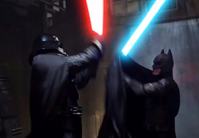 WATCH BATMAN vs DARTH VADER - Super Power Beat Down