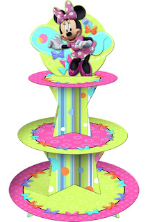 Disney Minnie Mouse Bow-tique Cupcake Stand