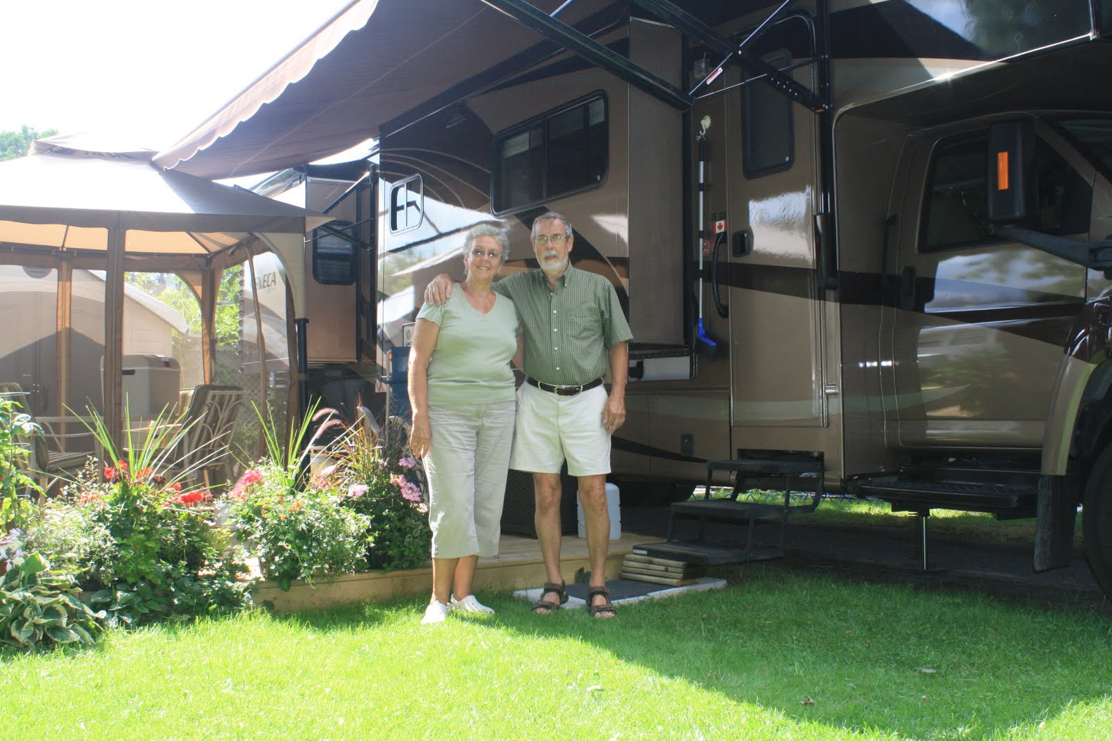 private campground guide in ontario