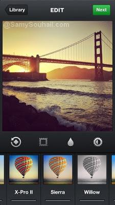 تطبيق Instagram لمشاركة الصور وإضافات تأثيرات عليها لهواتف آيفون وأندرويد مجانا
