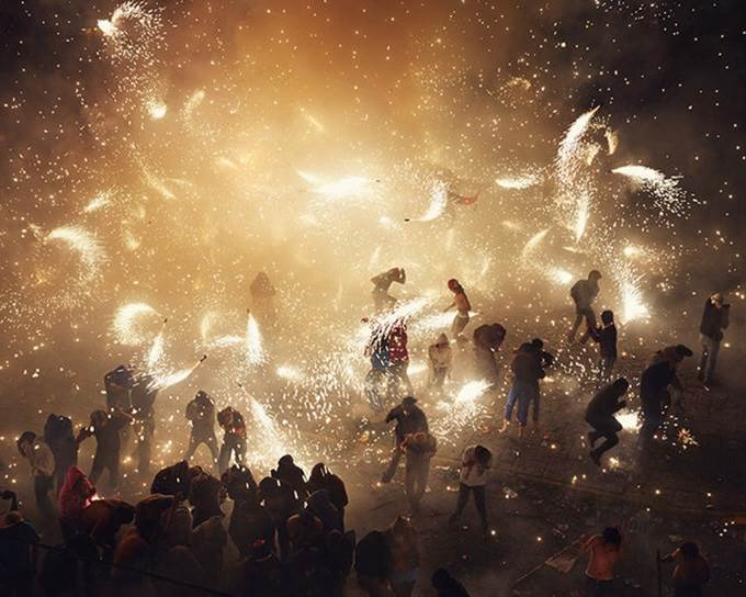 perayaan bunga api terbesar dunia