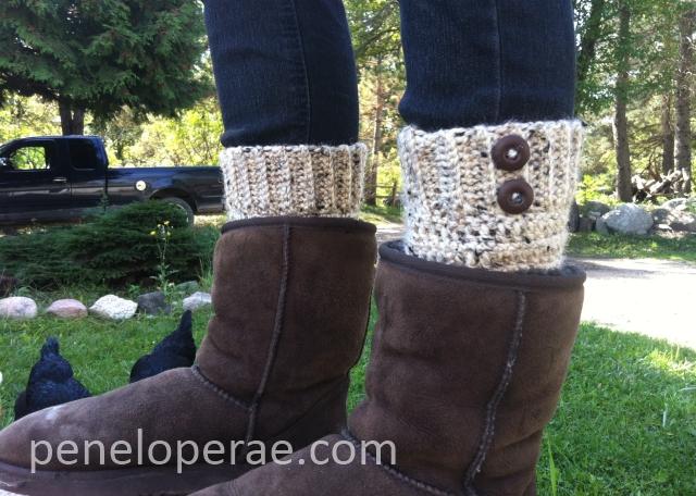 Penelope Rae Crochet Boot Cuffs Free Pattern