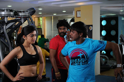 Pranitha hot stills gym pics hot images