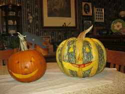 Cheered by Jack 'o Lanterns . . .