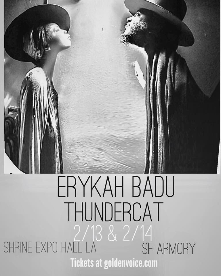 Erykah Badu with Thundercat