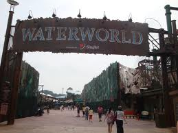water world universal studio singapore