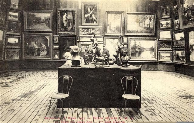 Albert robida et son blog 39 robida l 39 exposition de 1903 for Salon des beaux arts