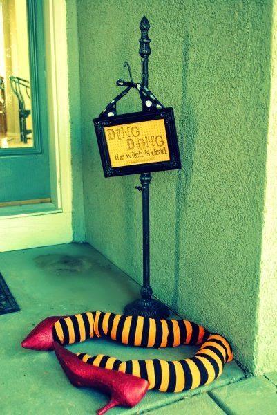 Halloween - pies de bruja