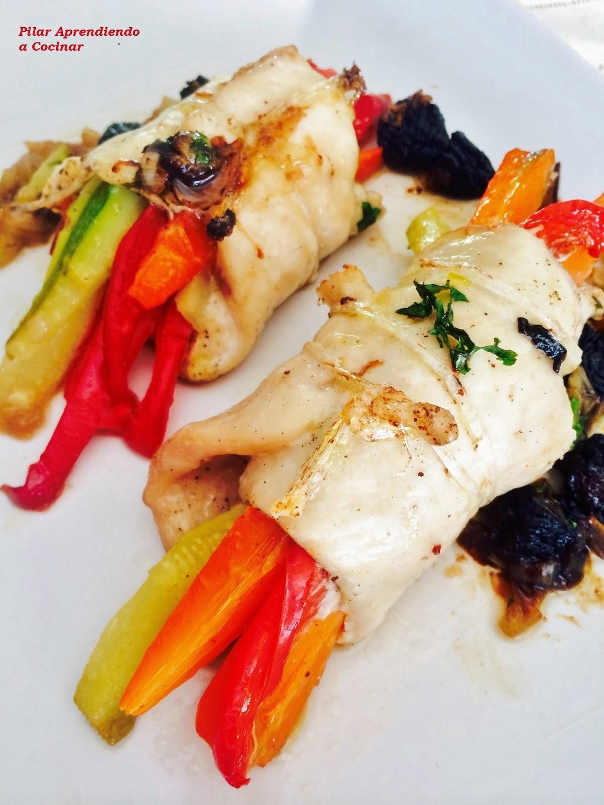 Aprendiendo a cocinar ataditos de pollo con verduras - Cocinar verduras para dieta ...