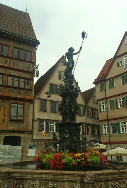 Statue of Neptune, Tuebingen, taken by Jo Vietzke