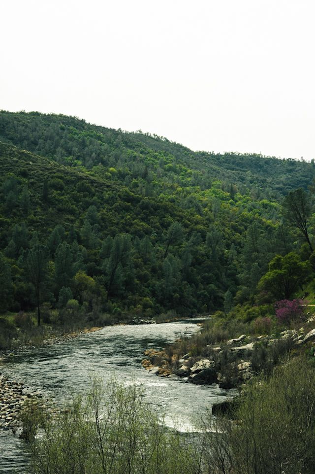 the merced river valley