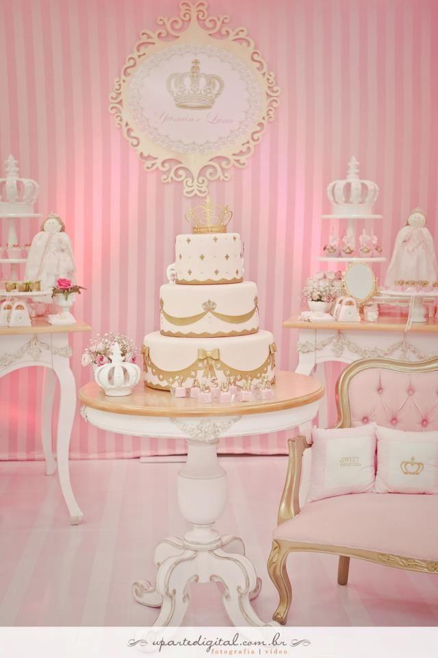 Princesa Rosa {dia de festa} - decoração / reprodução internet