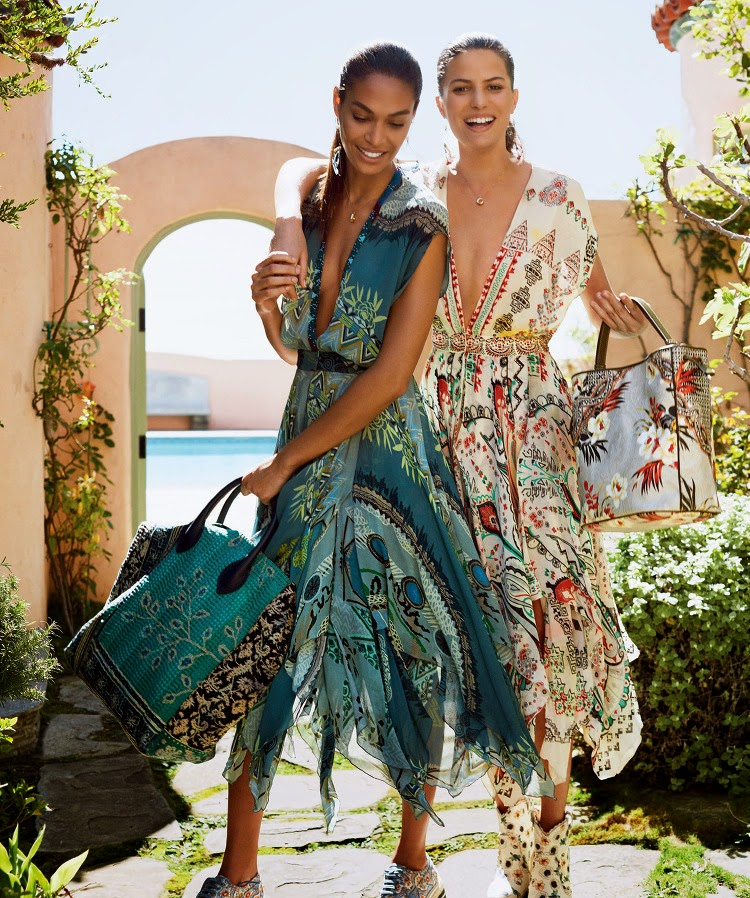 Fashion Model @ Cameron Russell, Joan Smalls - Vogue US, May 2015