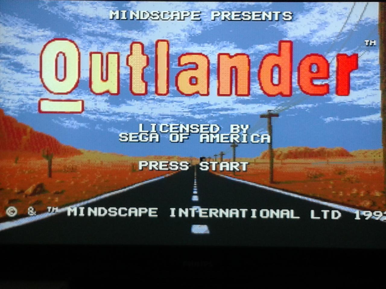 Outlander (Megadrive)