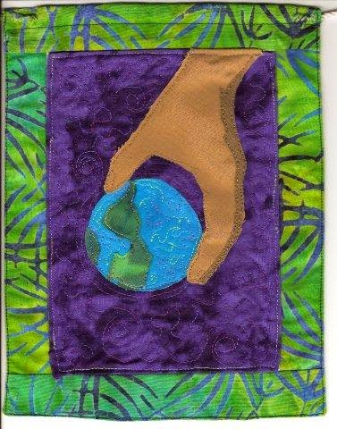 asya lesly prayer flag