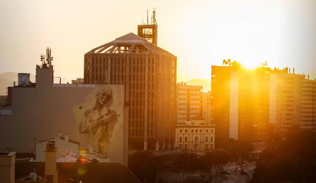 South African Painter Faith47 Newest Mural On The Streets Of Malaga, Spain For Maus Malaga Urban Art Festival. 2