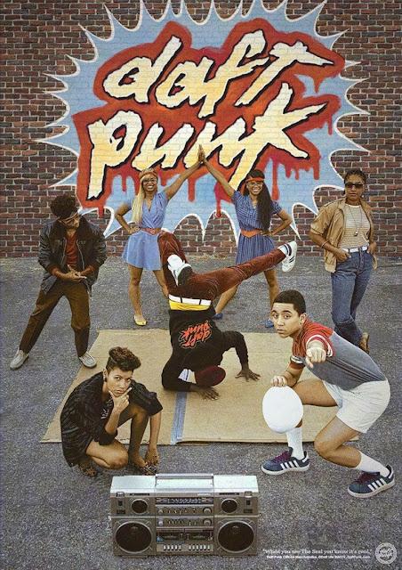 Die neuen Daft Punk Vintage Merch-Poster bringen uns zurück in die 80er