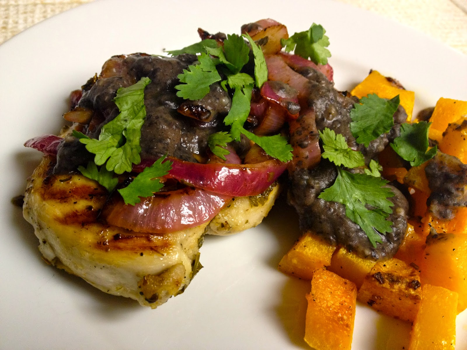 Foodie Journey: Grilled Lime-Chicken with Black Bean Sauce ...